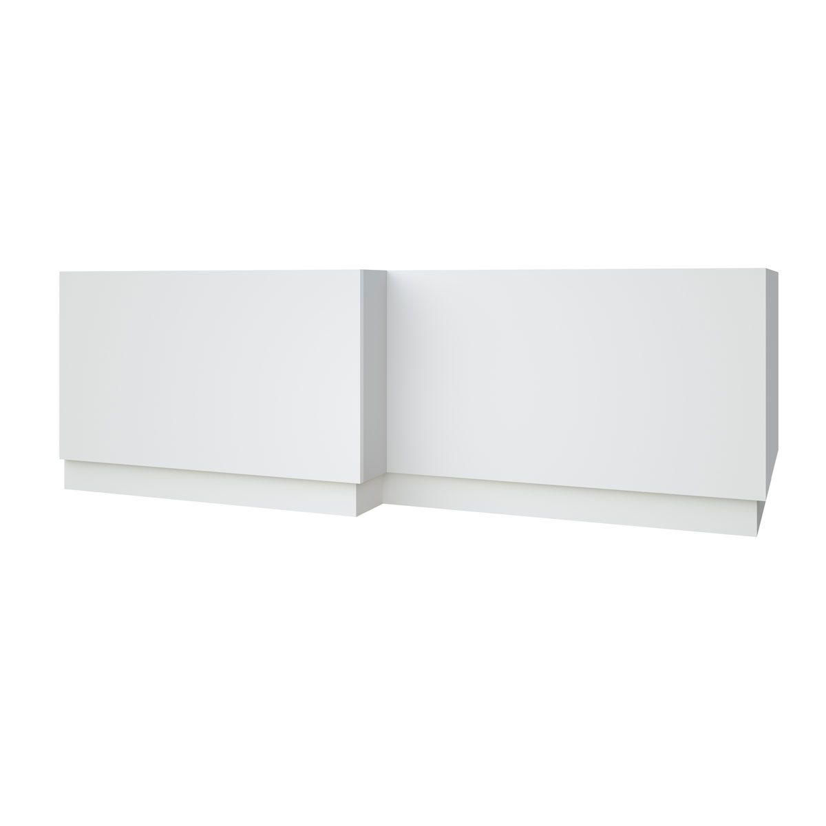 Kartell Purity White L Shaped Bath Panel 1700mm