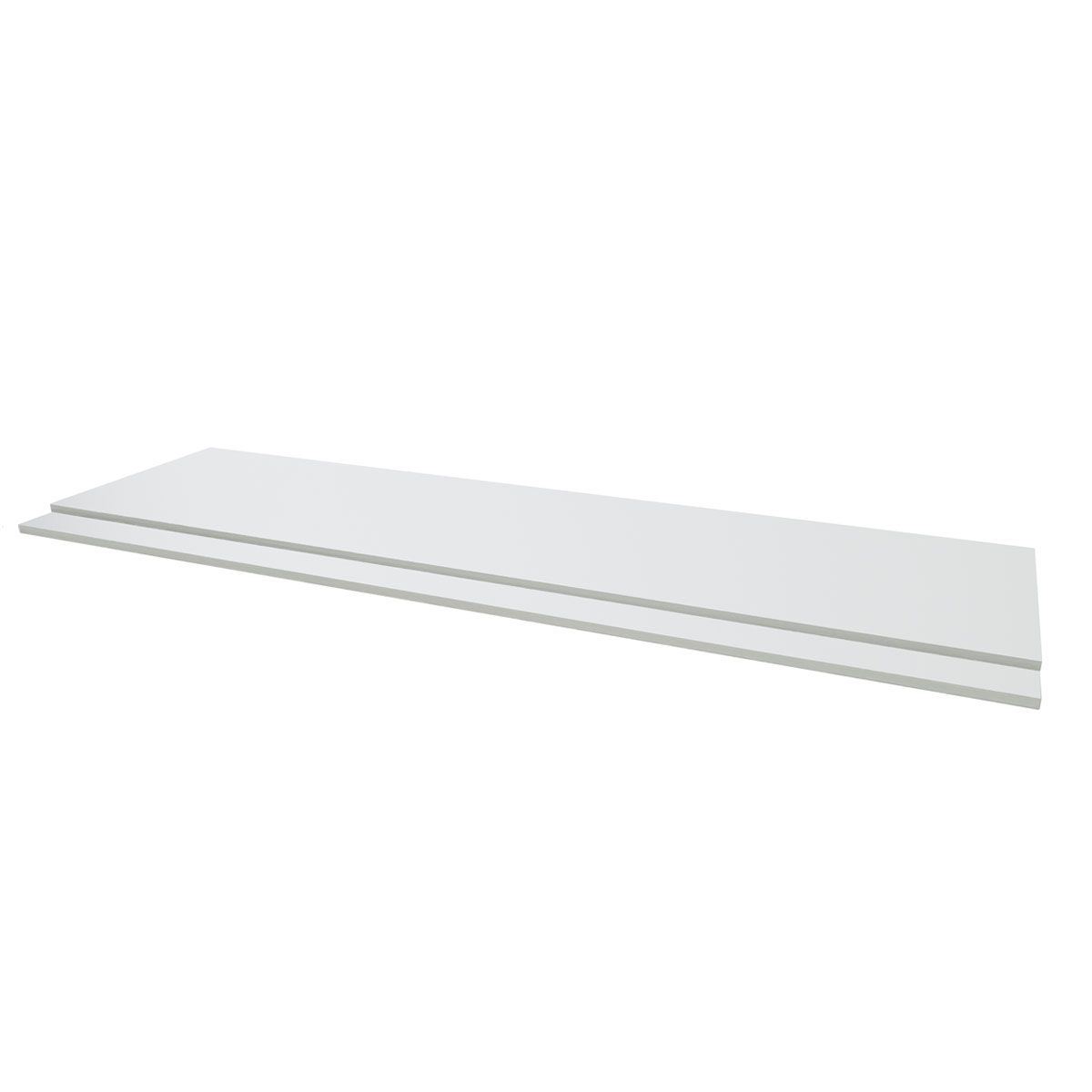 Kartell Purity White 2 Piece Front Bath Panel 1700mm