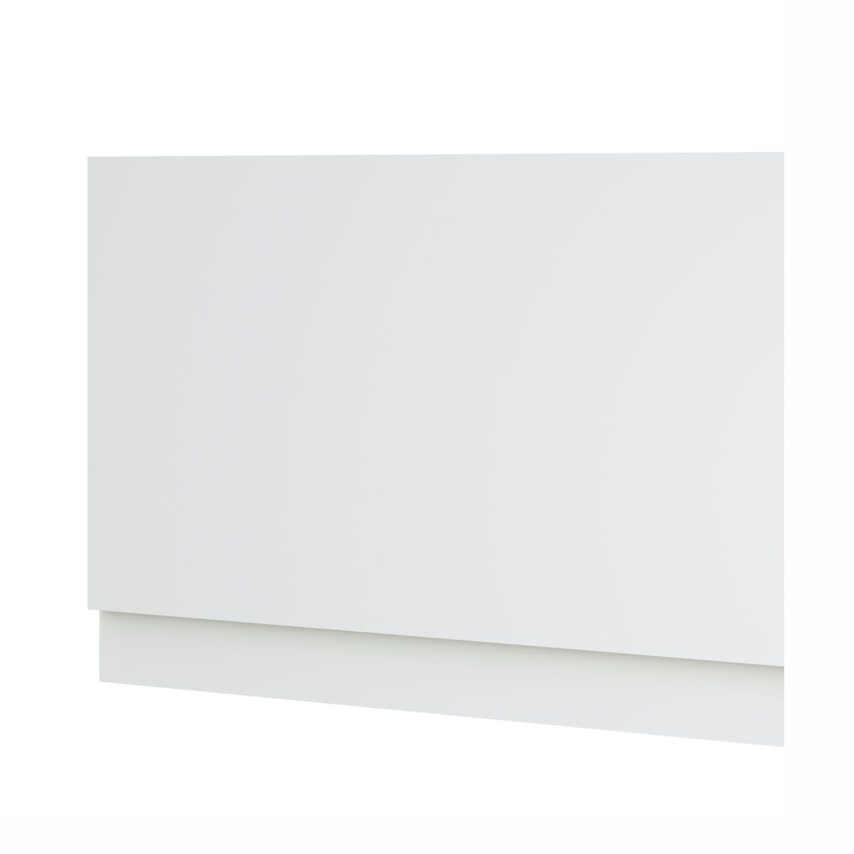 Kartell Purity White 2 Piece Bath End Panel 800mm