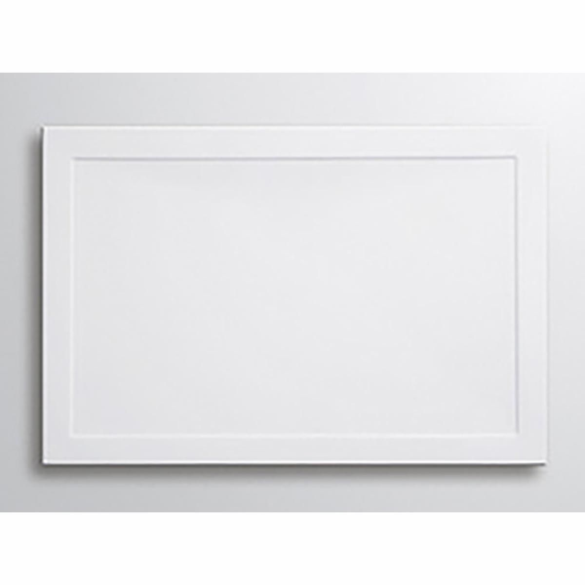 Lakes White Low Profile Rectangular ABS Tray 1000mm X 900mm