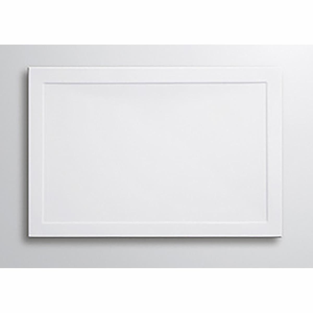 Lakes White Rectangular Stone Resin/ABS Tray 80mm 1000mm X 700mm