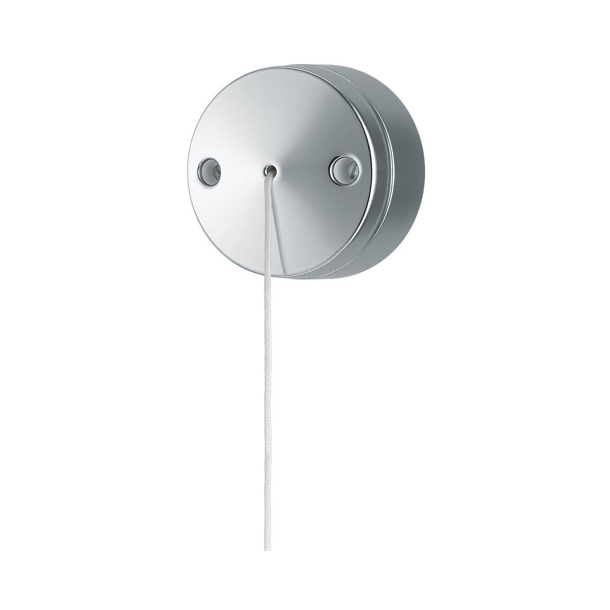 LAP Polished Chrome 6A 2-Way Pull Cord Switch