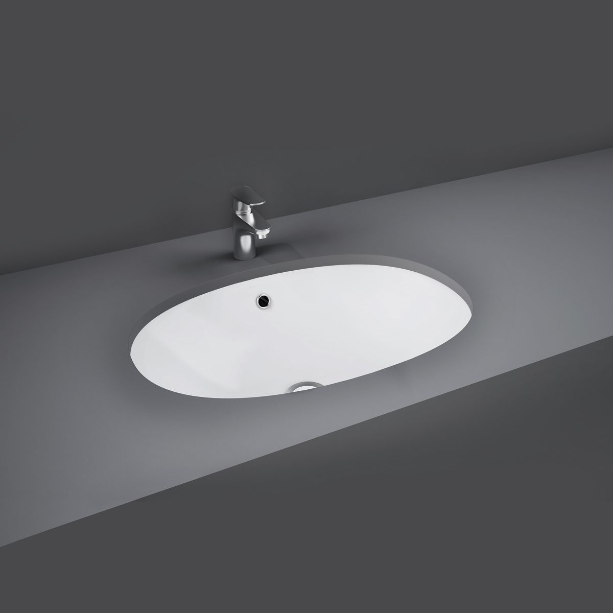 RAK Lily Under-Counter Vanity Bowl 460mm
