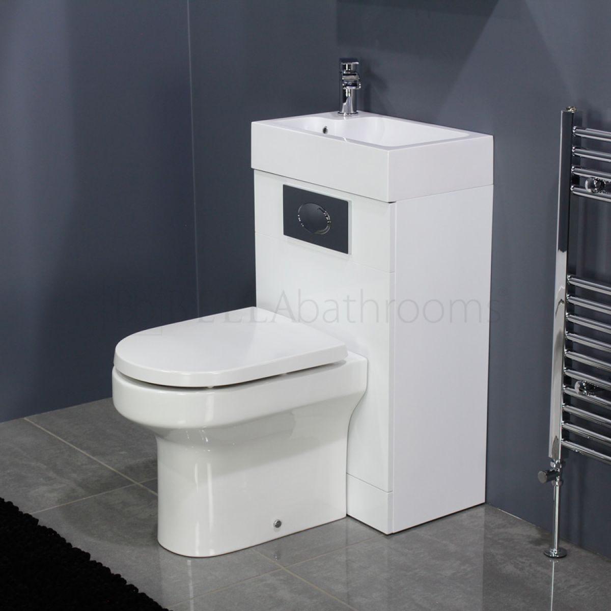 Manhattan Space Saving Toilet with Sink on Top