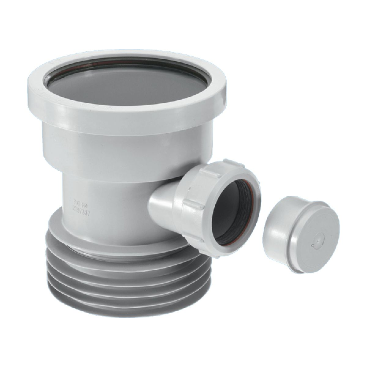 McAlpine DC1-GR-BO Drain Connector with Boss
