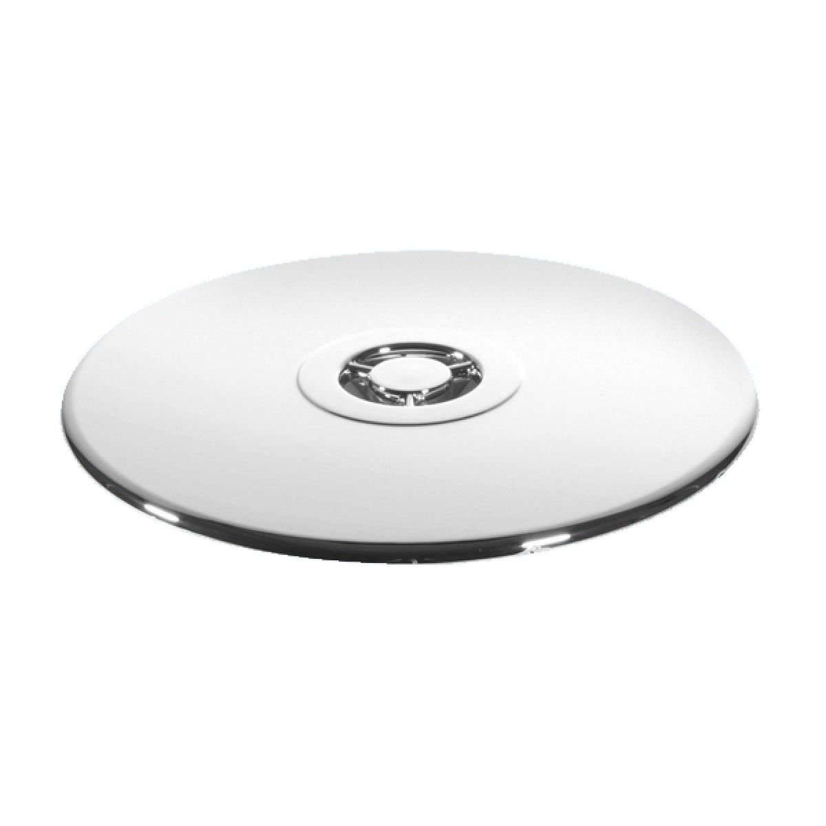 McAlpine 113mm Chrome Plated Plastic Flange with Dip Tube