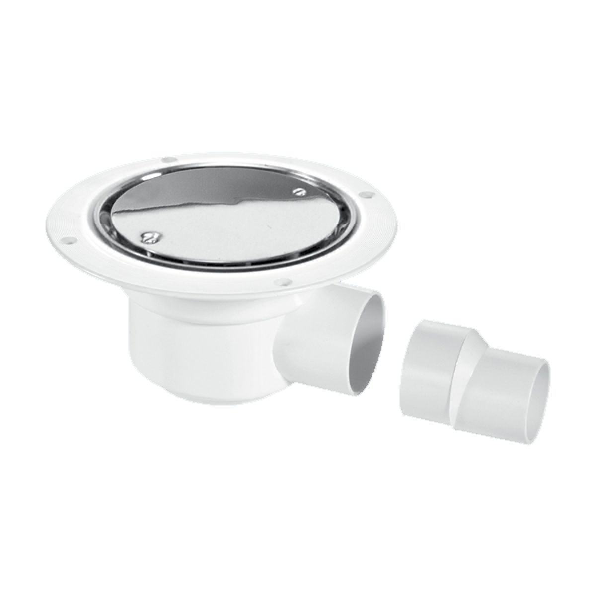 McAlpine TSG50SS 50mm Polished Stainless Steel Water Seal Trapped Gully