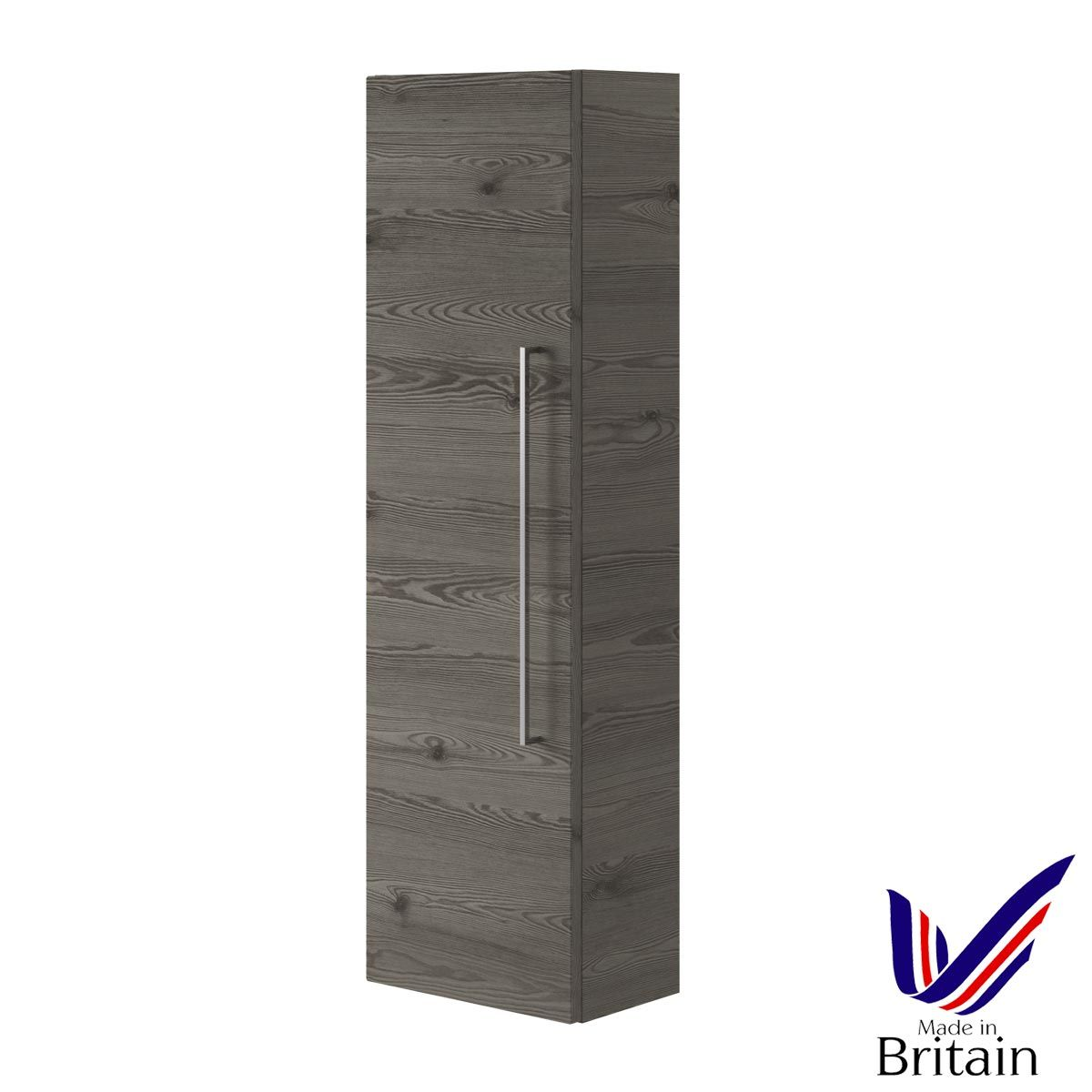 Mito Anthracite Wall Hung Tall Unit 350mm
