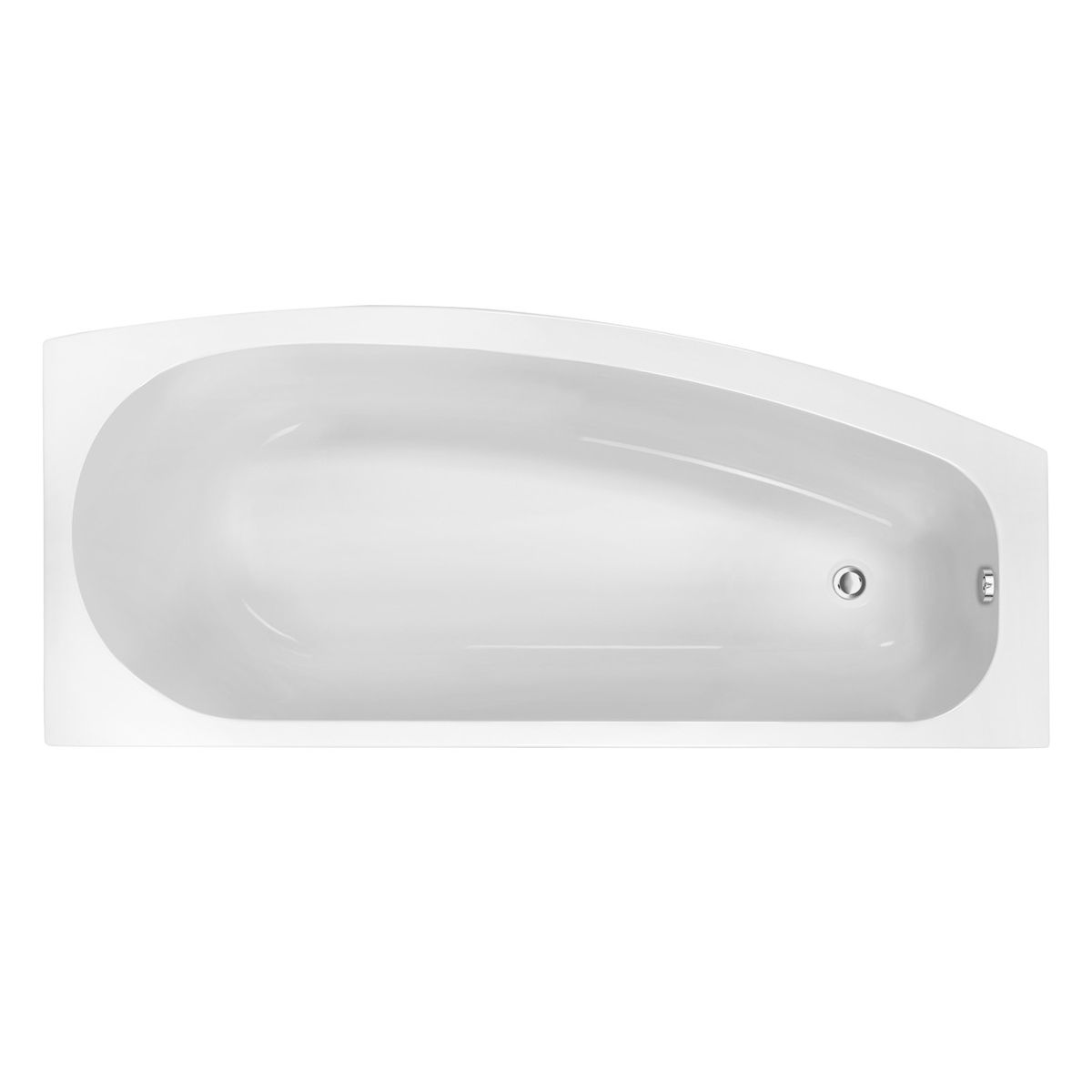 Moods Space Saver Single Ended Bath Right Hand