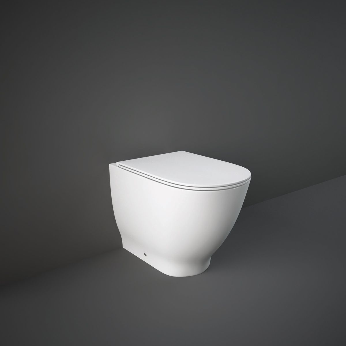 RAK Moon Rimless Back To Wall WC with Soft Close Seat