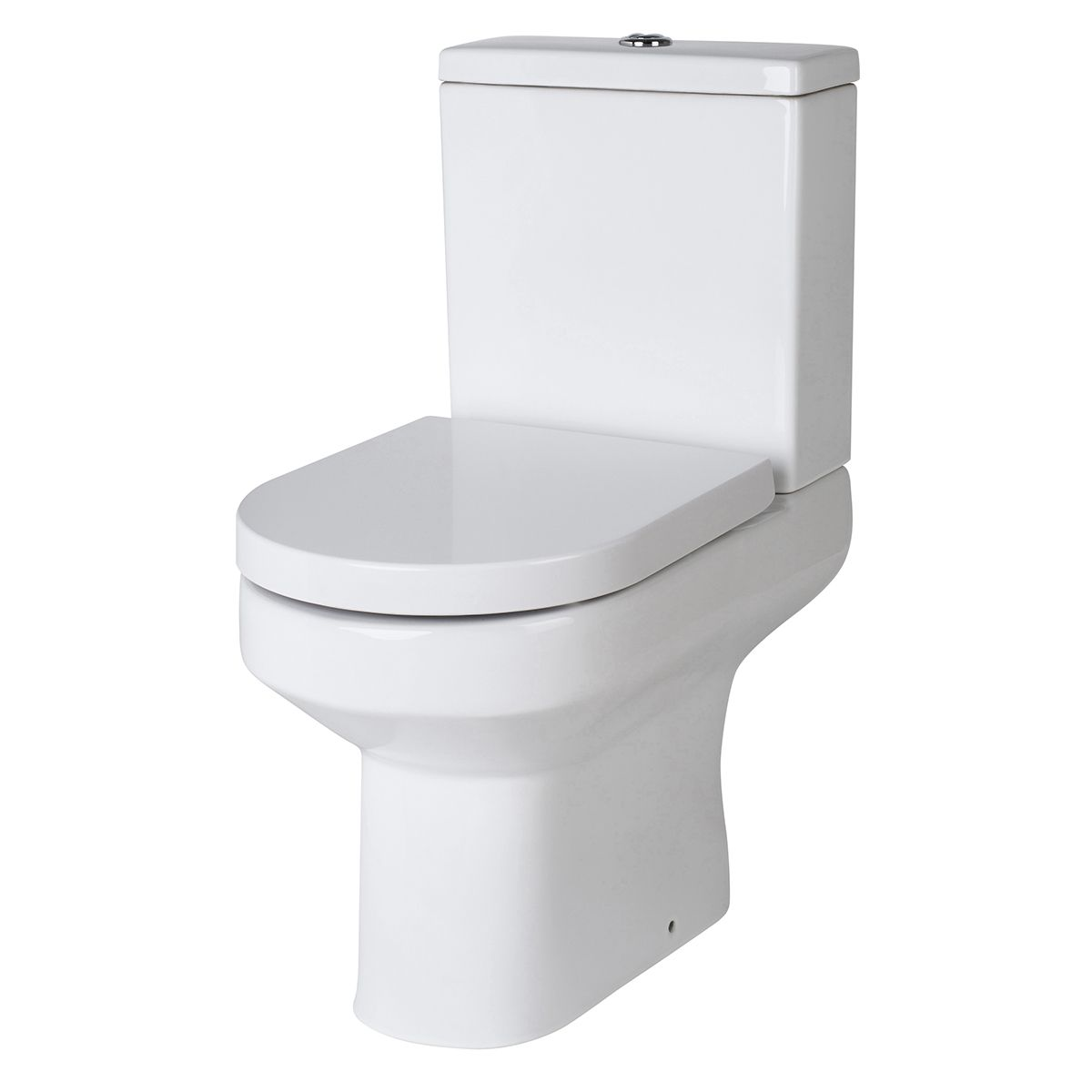 Nuie Harmony Close Coupled Pan w/ Cistern and Soft Close Seat