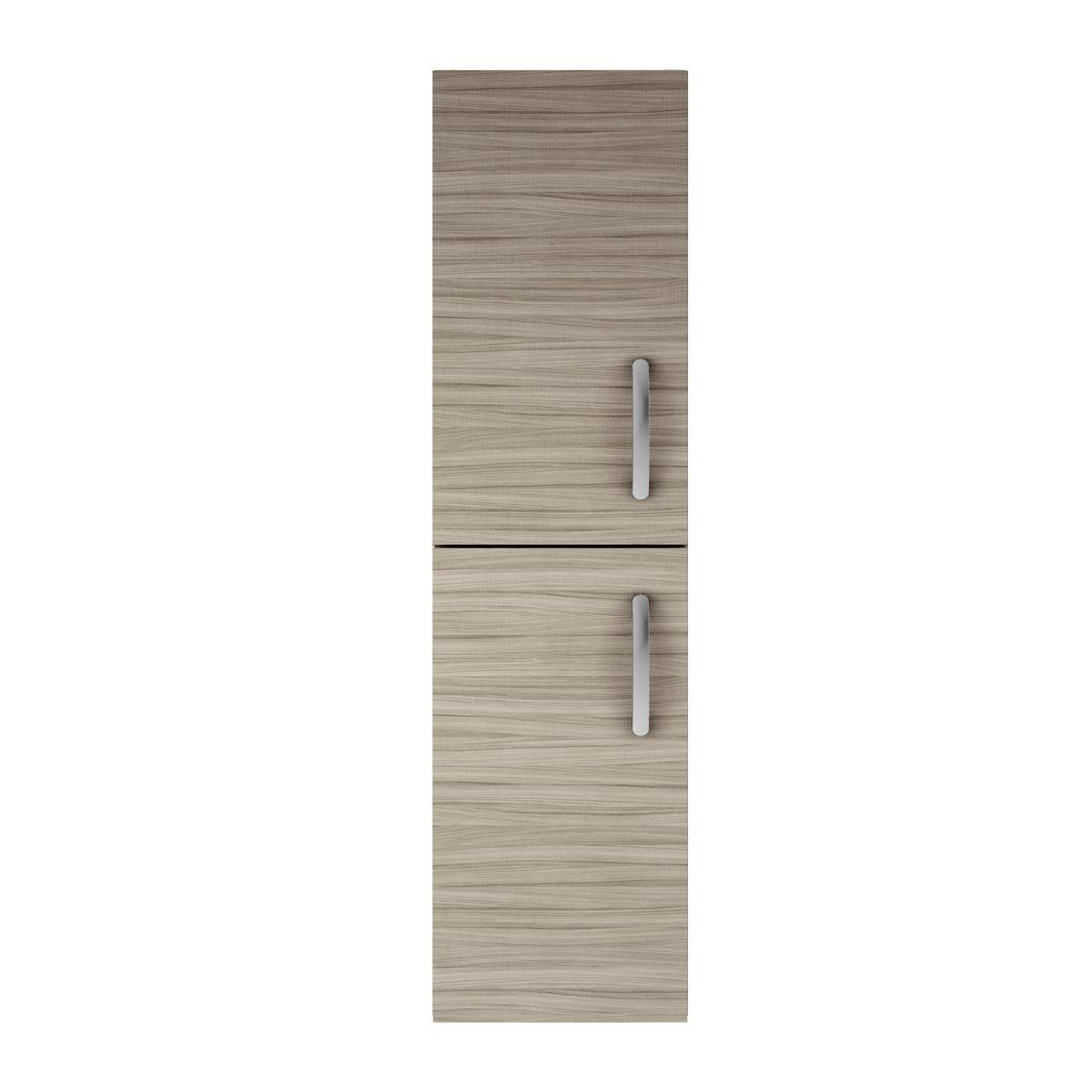 Nuie Athena Driftwood Double Door Tall Unit 300mm