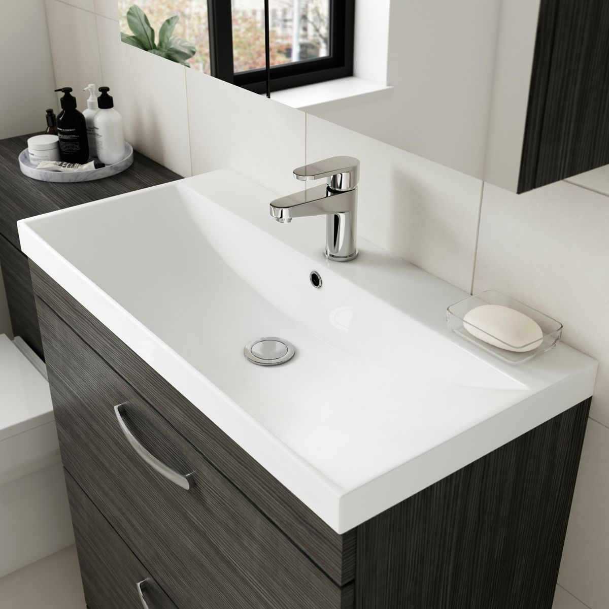 Nuie Athena Basin Option 3 -  Mid Edge Basin