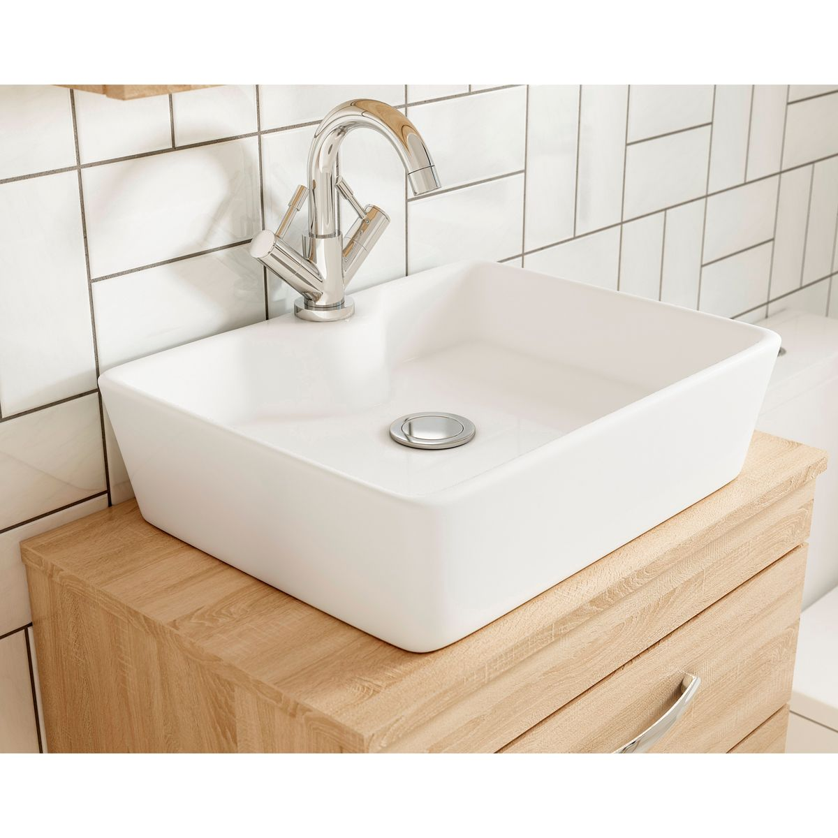 Nuie Athena Basin Option 4 -  Worktop
