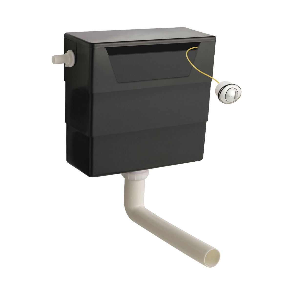 Nuie Concealed WC Cistern with Dual Flush