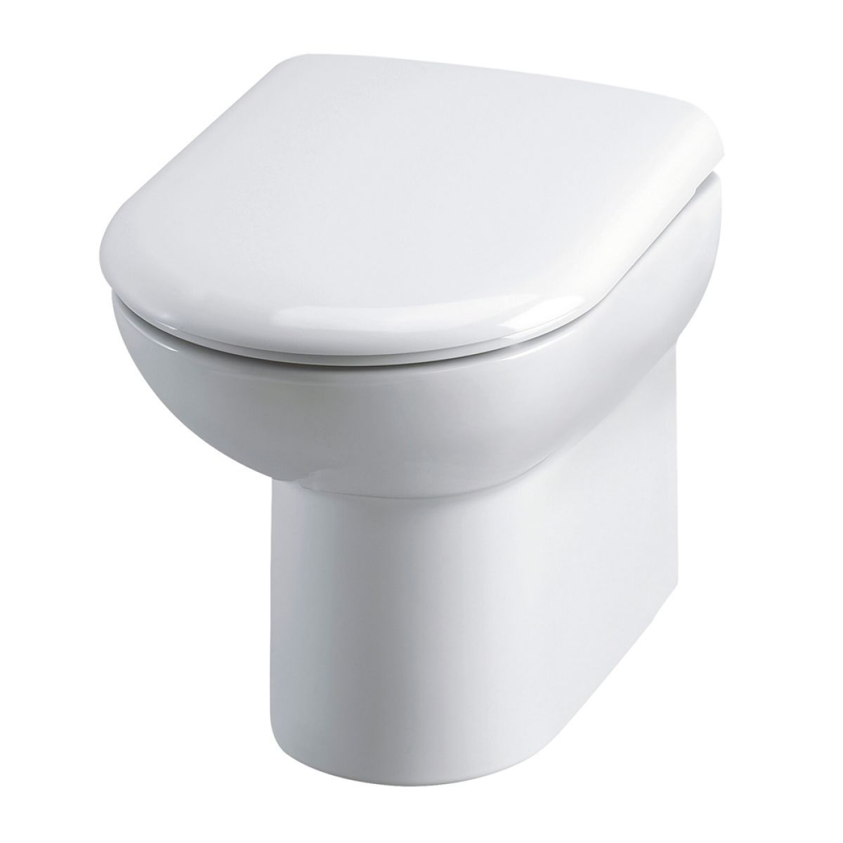 Nuie D Shaped Back To Wall Toilet