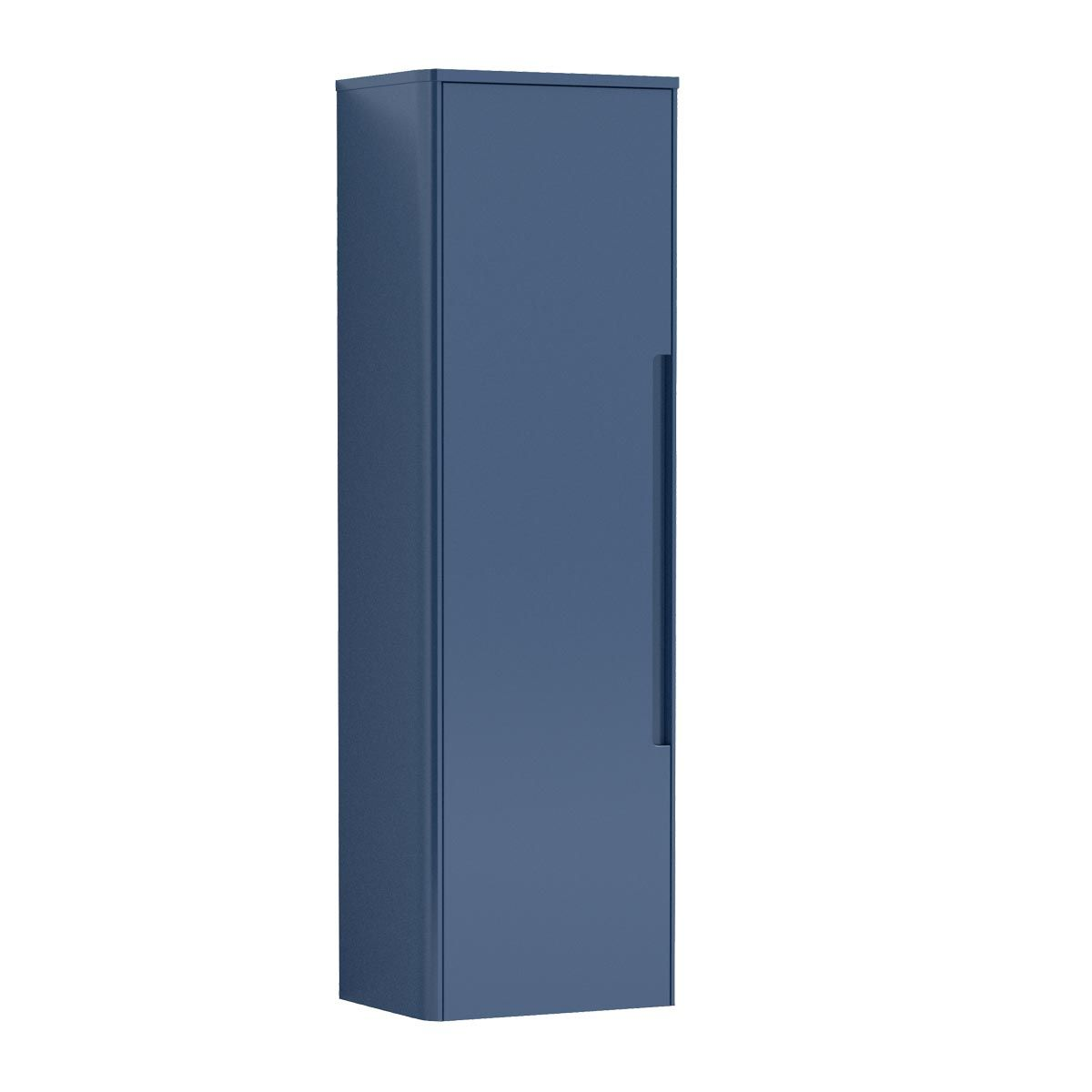 Nuie Elbe Blue Wall Hung Tall Unit 350mm