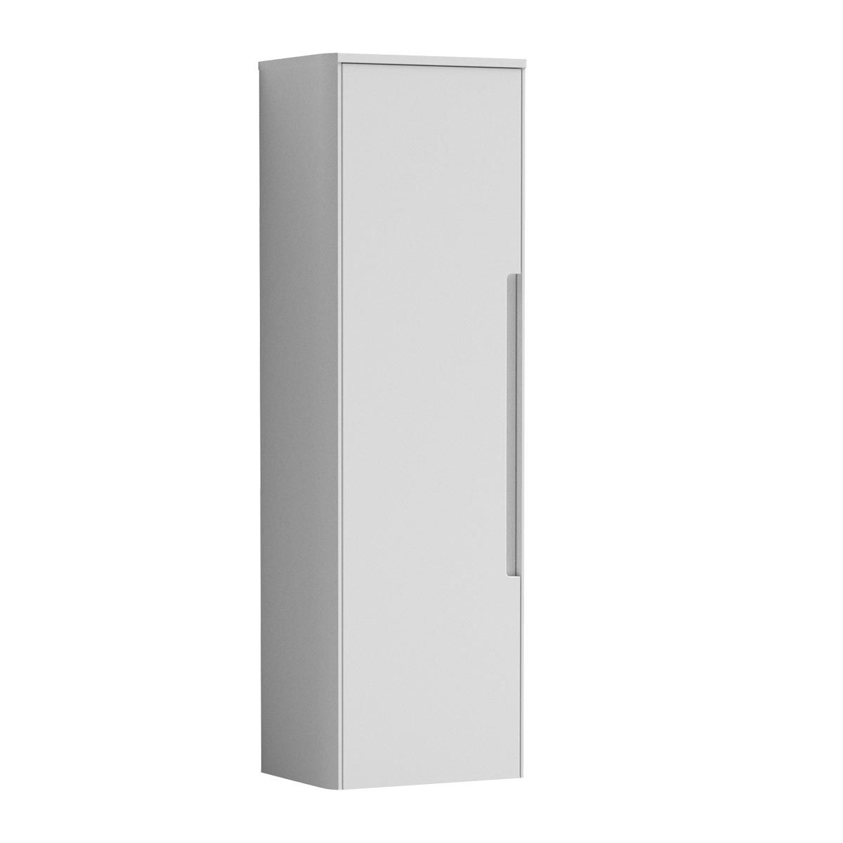 Nuie Elbe White Wall Hung Tall Unit 350mm