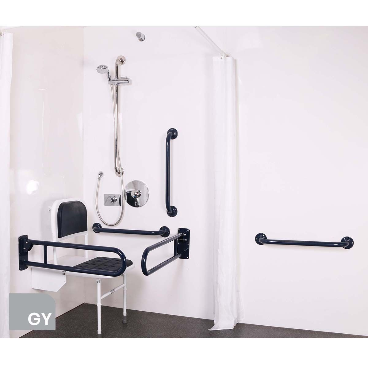 Nymas Concealed Grey Doc M Shower Pack