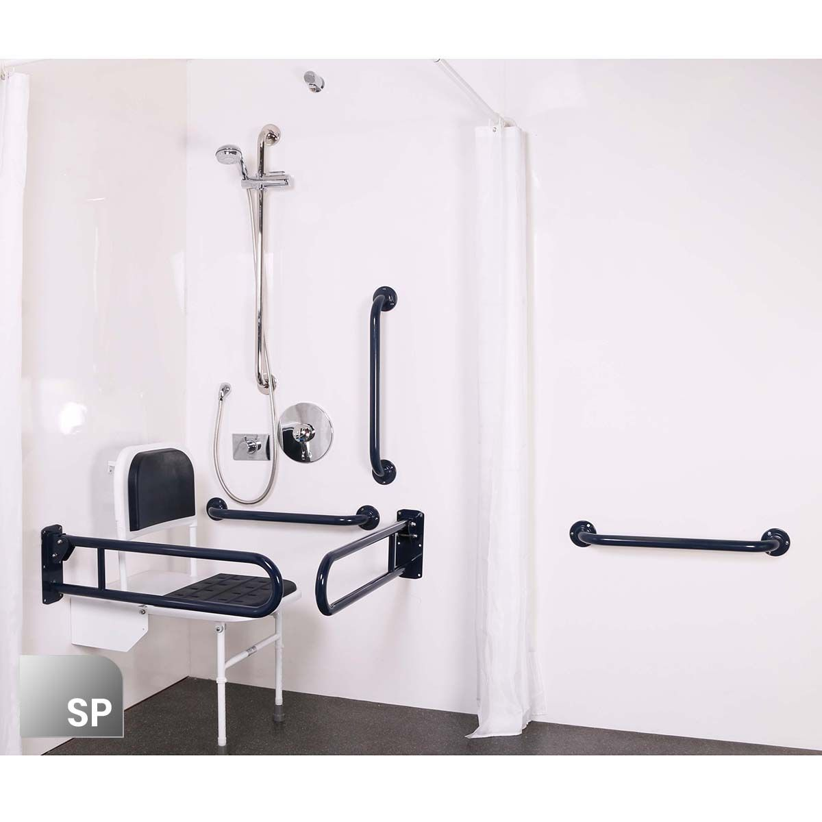 Nymas Concealed Polished Stainless Steel Doc M Shower Pack