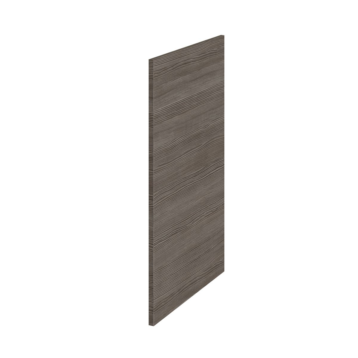 Hudson Reed Fusion Grey Avola Decorative End Panel