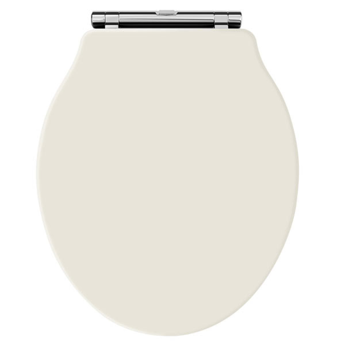 Premier Ryther Ivory Wooden Toilet Seat