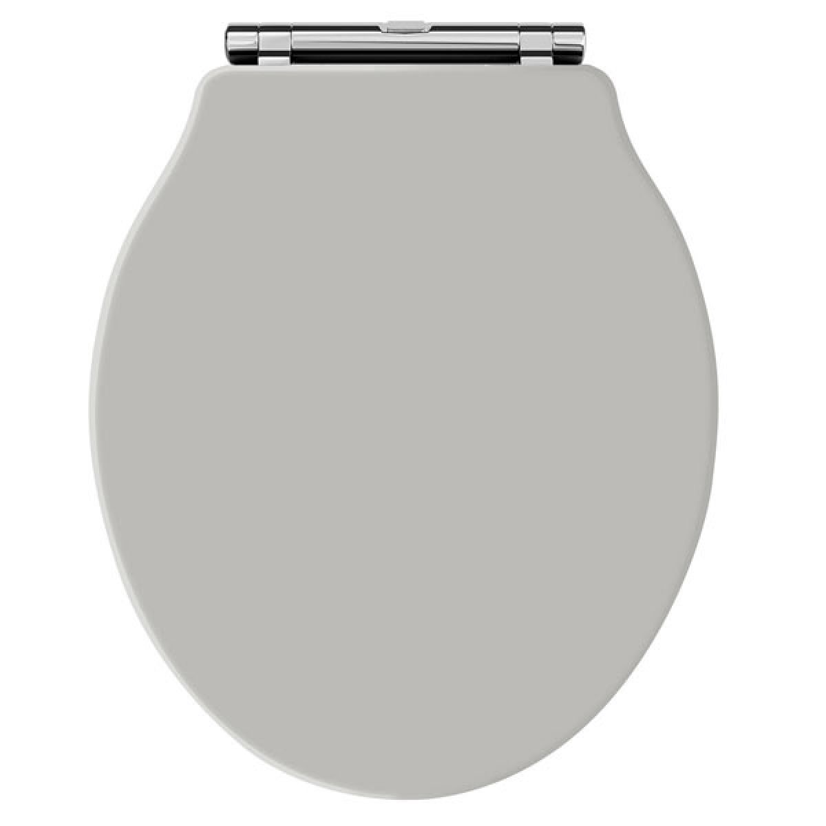 Premier Ryther Stone Grey Wooden Toilet Seat