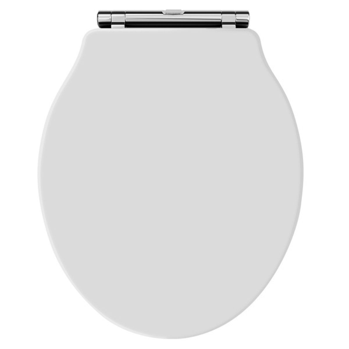 Premier Ryther White Wooden Toilet Seat