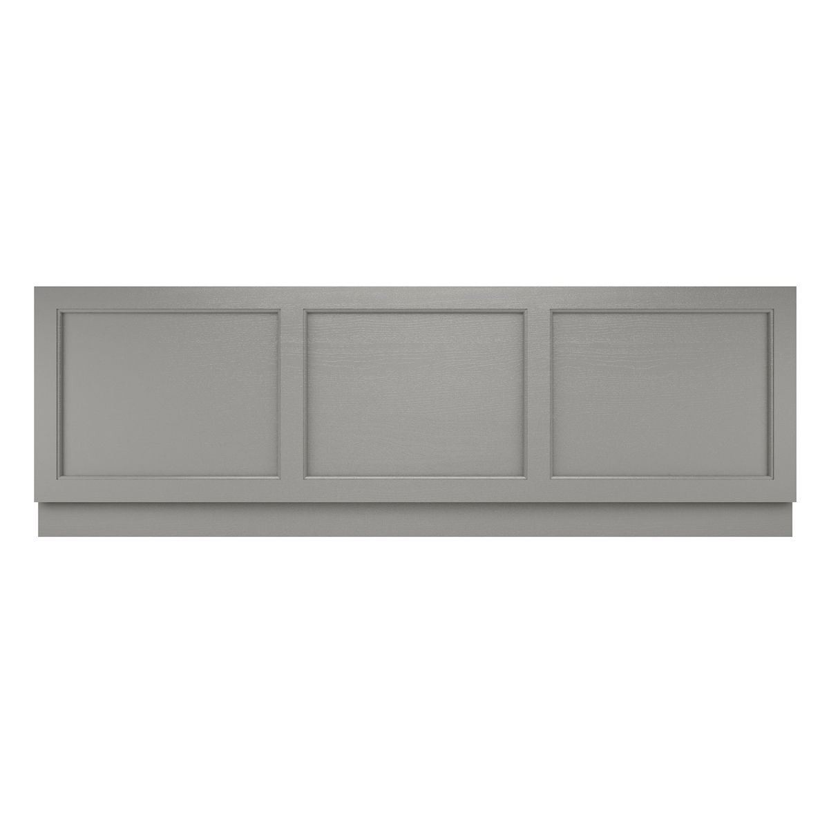 Old London Storm Grey Front Bath Panel 1700mm