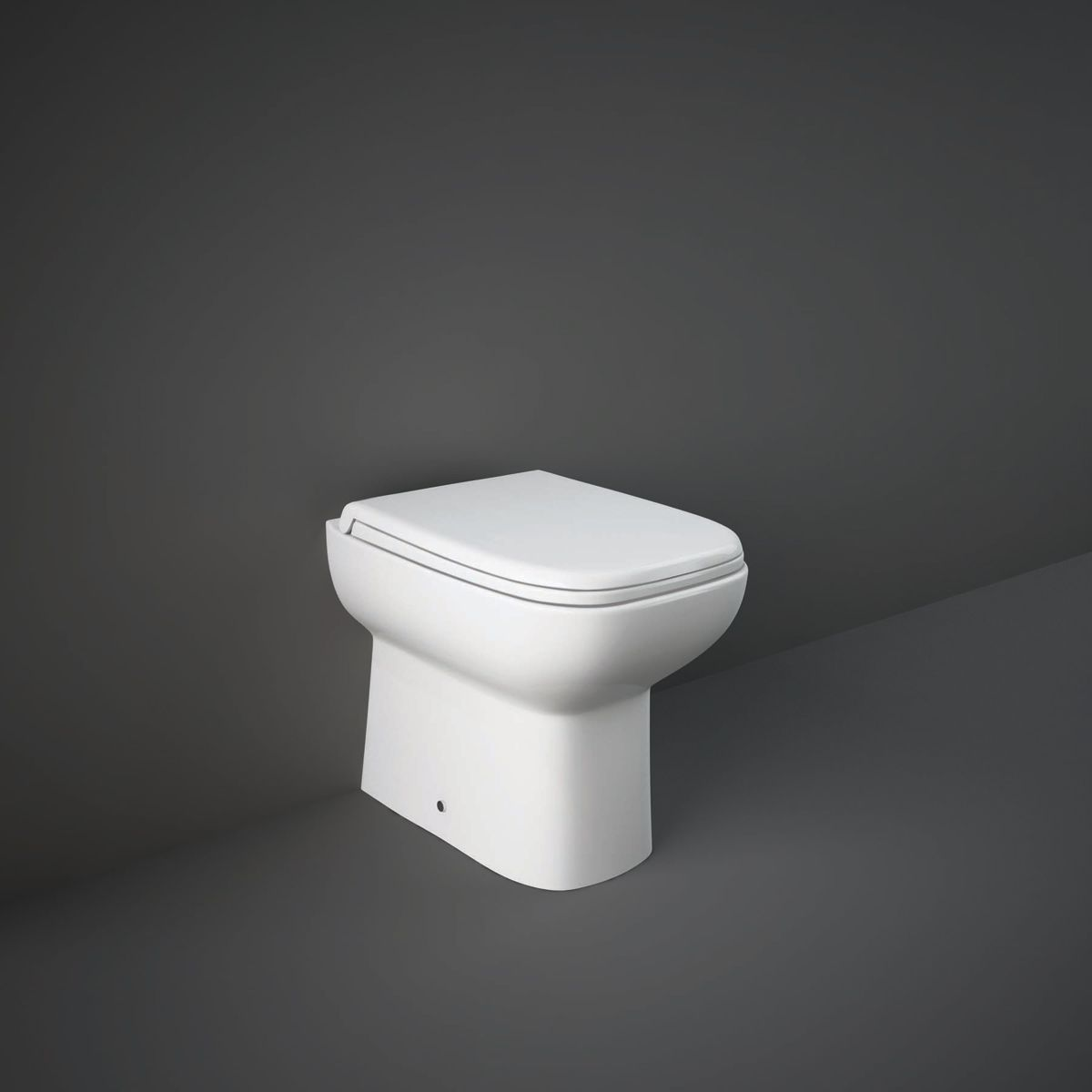RAK Origin 62 Deluxe Back To Wall WC Pan with Soft Close Seat