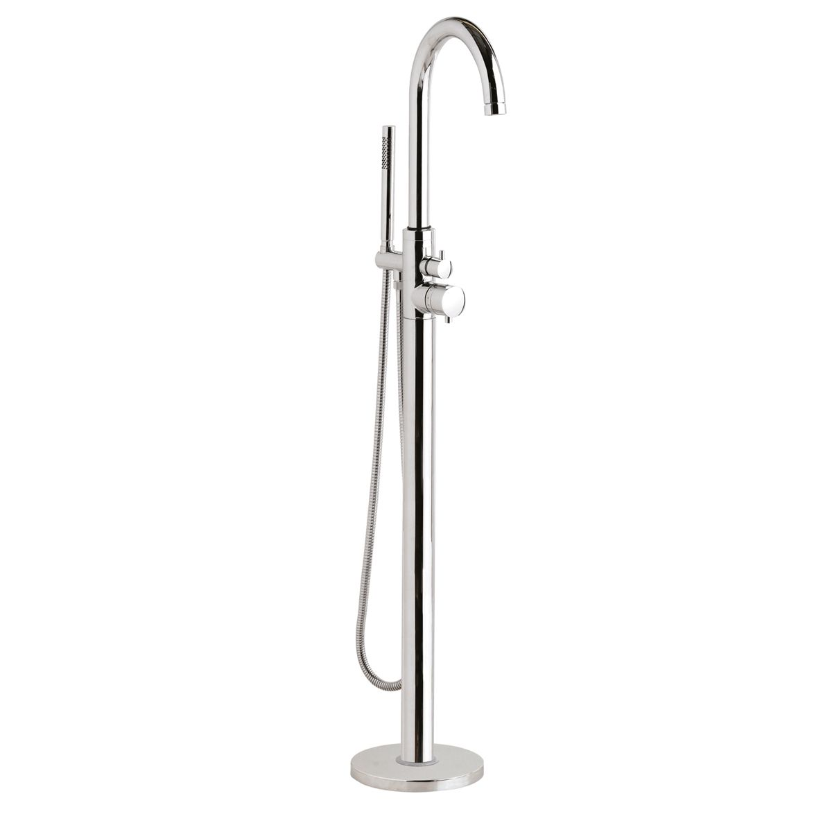 Hudson Reed Tec Floor Standing Bath Shower Mixer