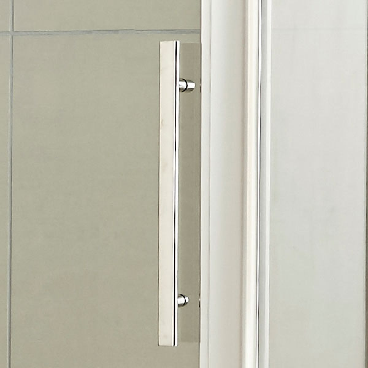 Hudson Reed Apex Single Sliding Door Shower Door with Optional Side Panel - Handle