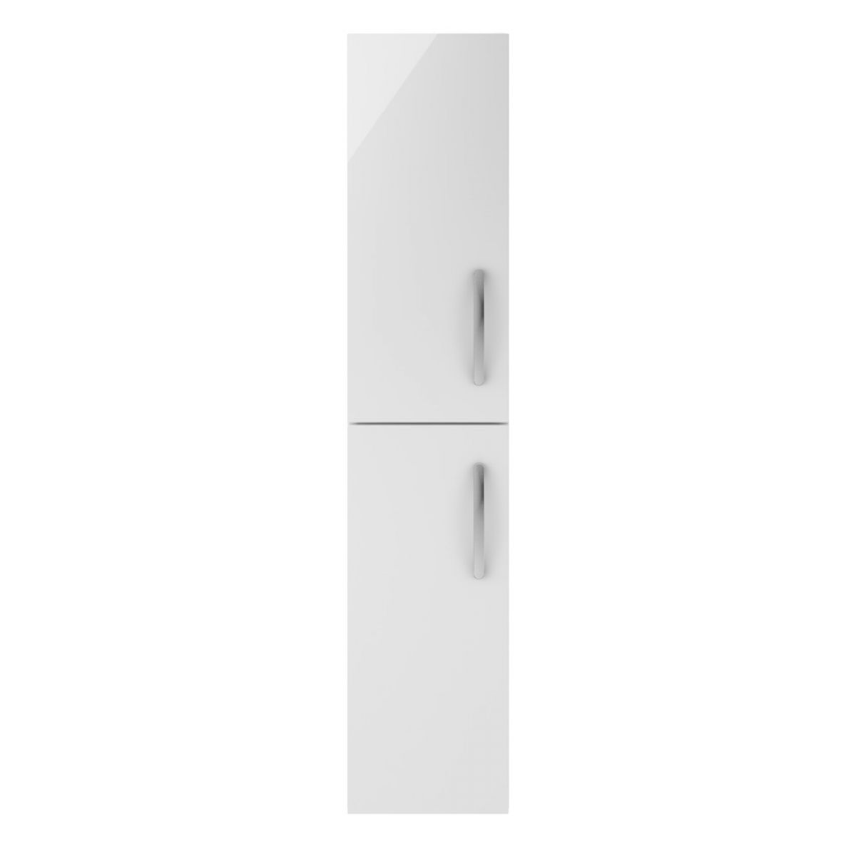 Premier Athena Gloss White Double Door Tall Unit 300mm