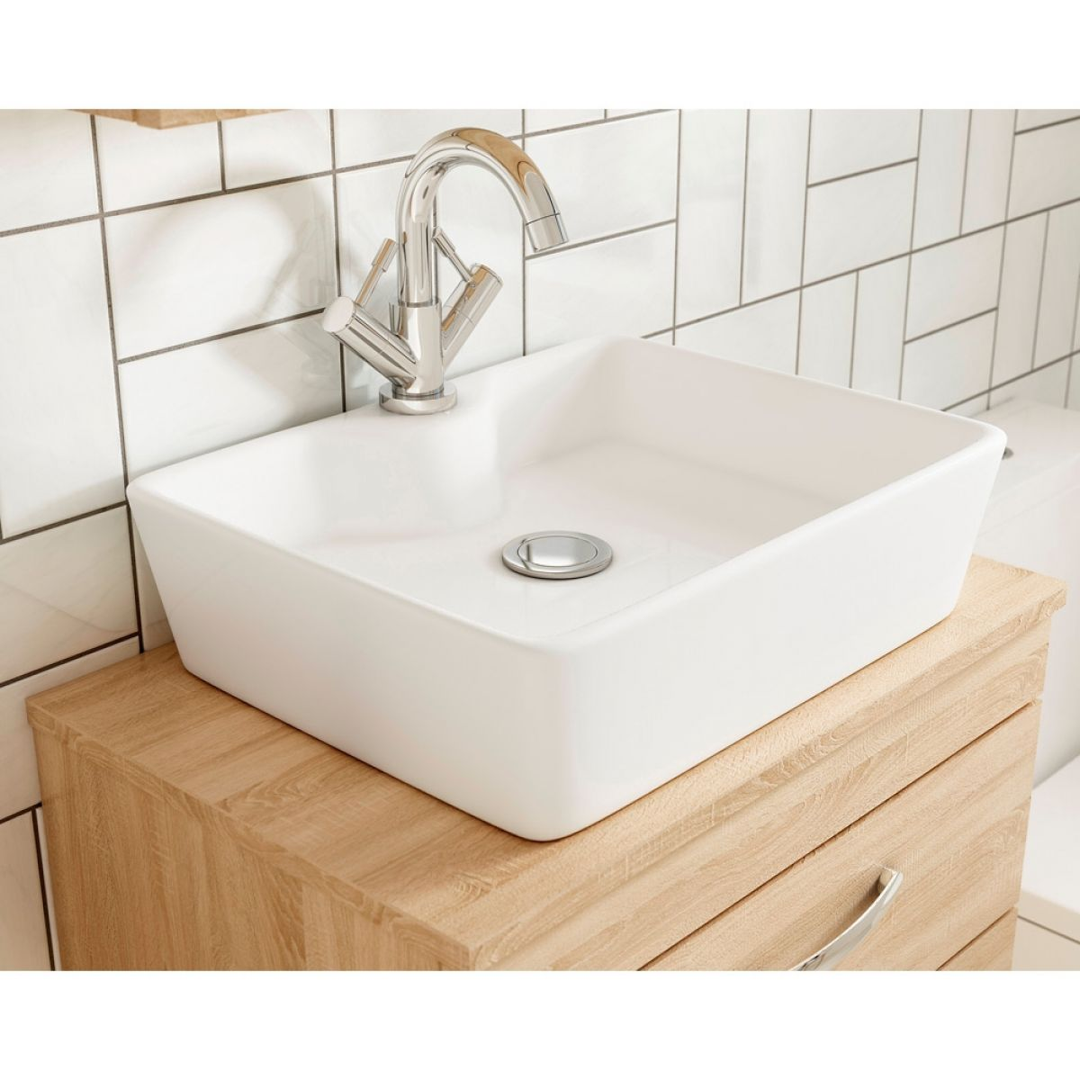 Premier Athena Basin Option 4 -  Worktop