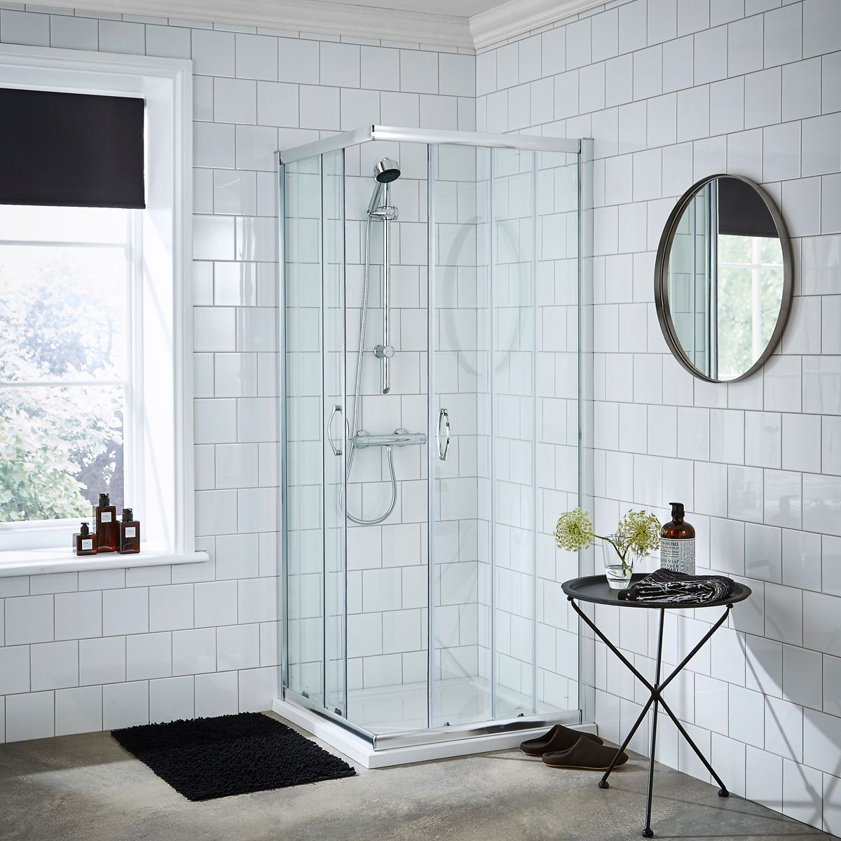 Nuie Ella Corner Entry Shower Enclosure