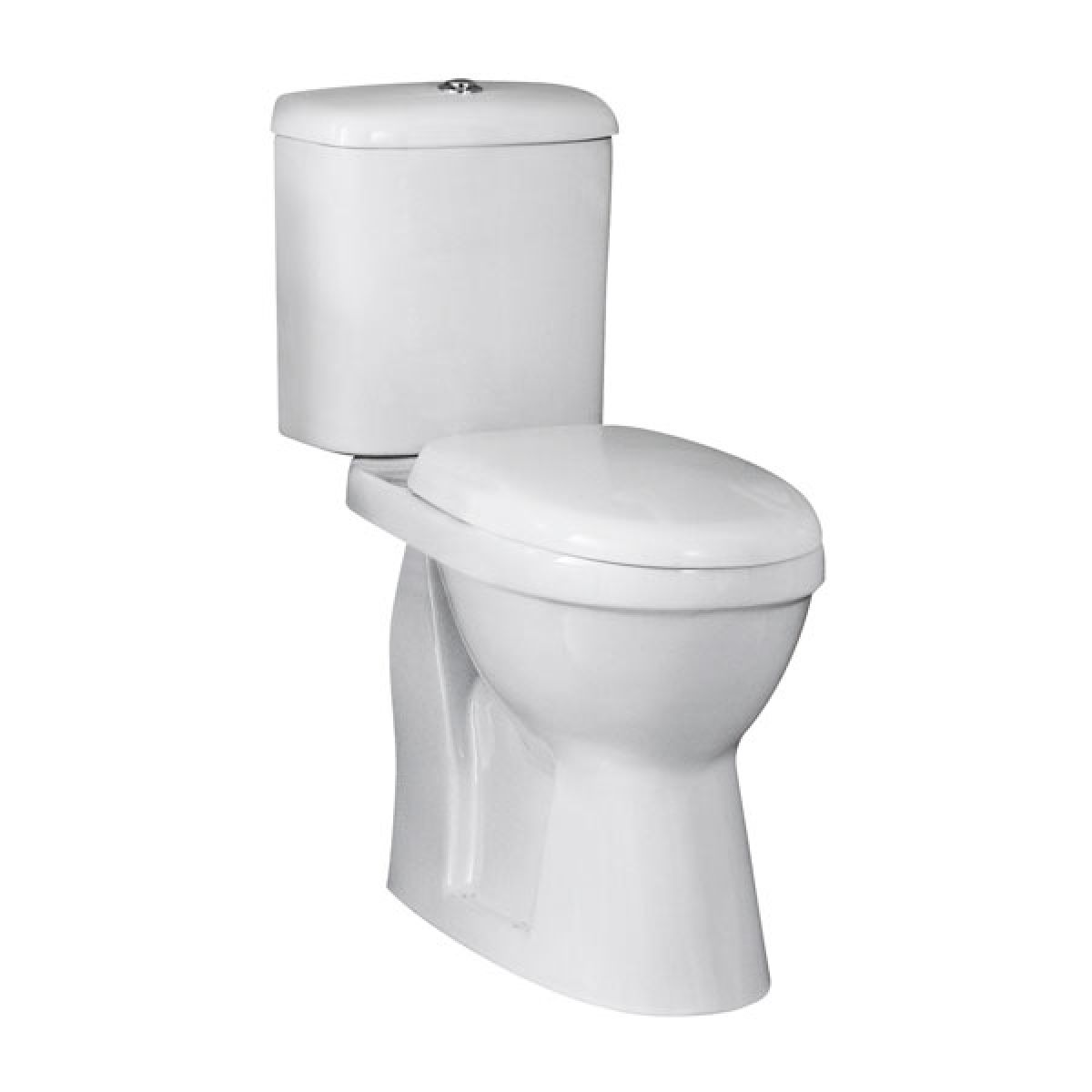 Premier Ivo Comfort Height Close Coupled Toilet with Standard Seat