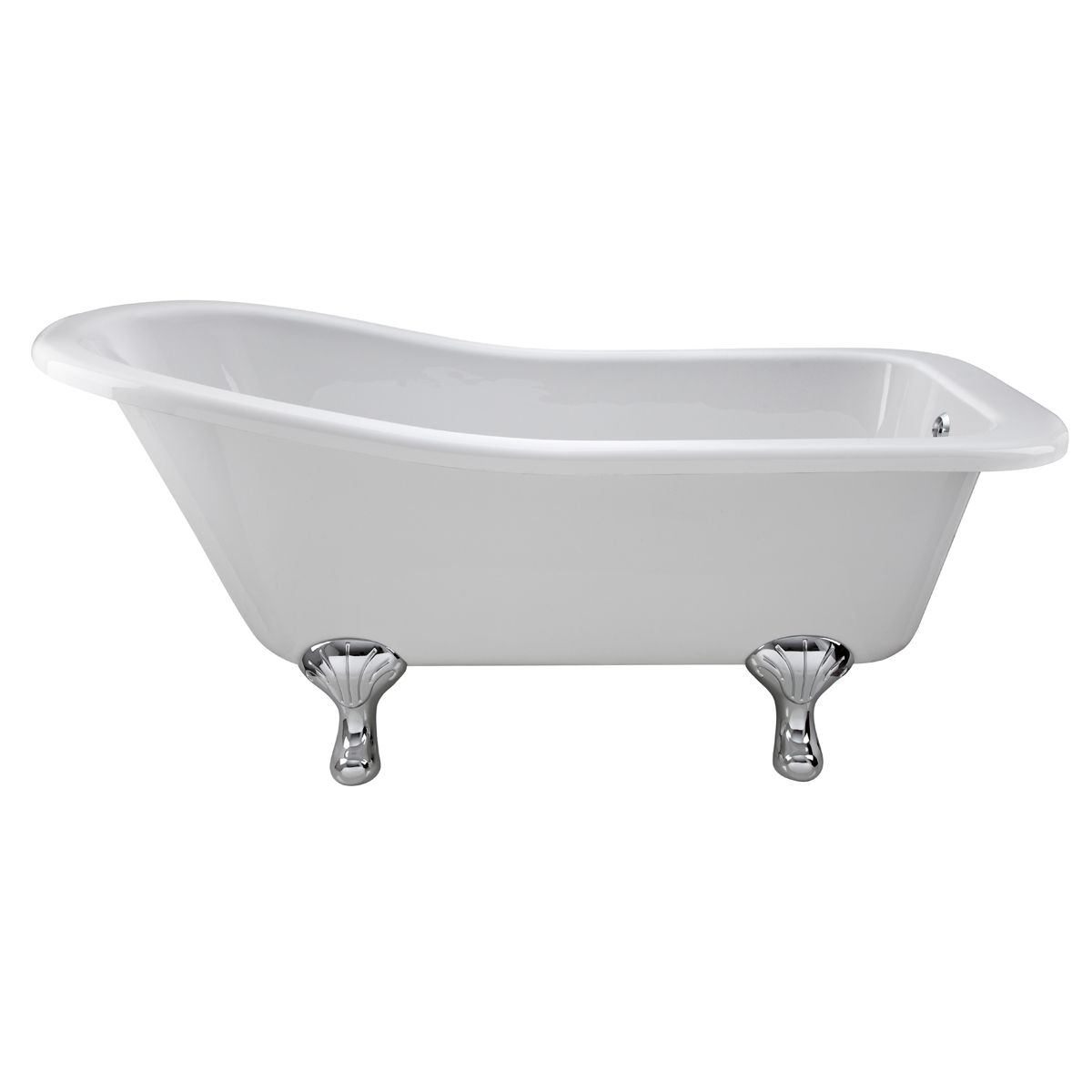 Hudson Reed Kensington Freestanding Slipper Bath with Corbel Leg Set