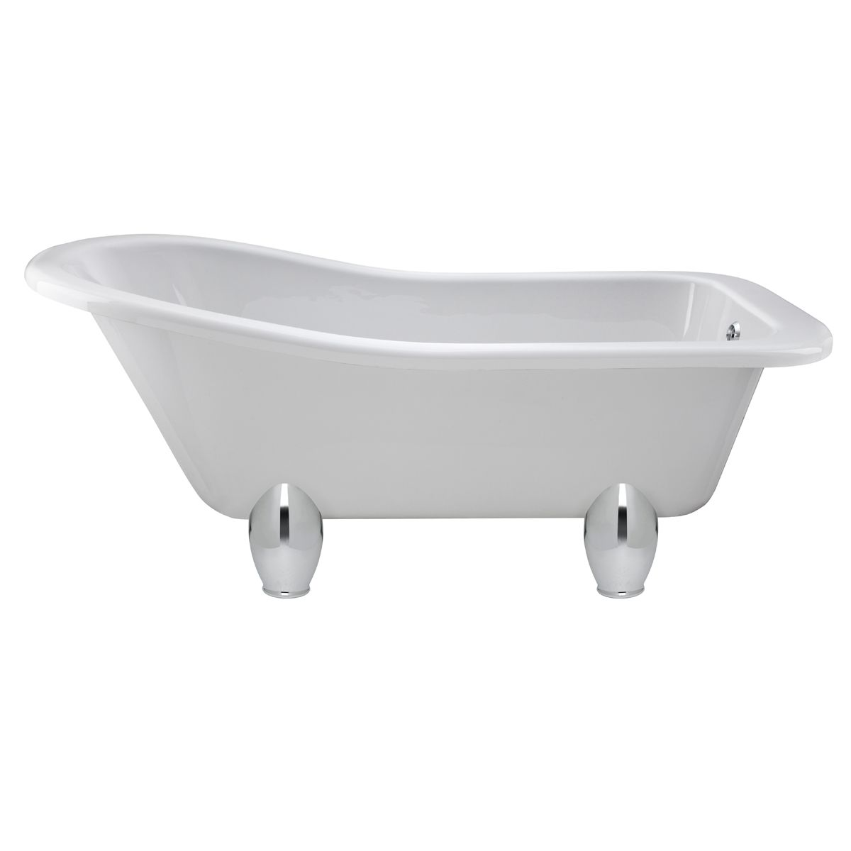 Hudson Reed Kensington Freestanding Slipper Bath with Deacon Leg Set