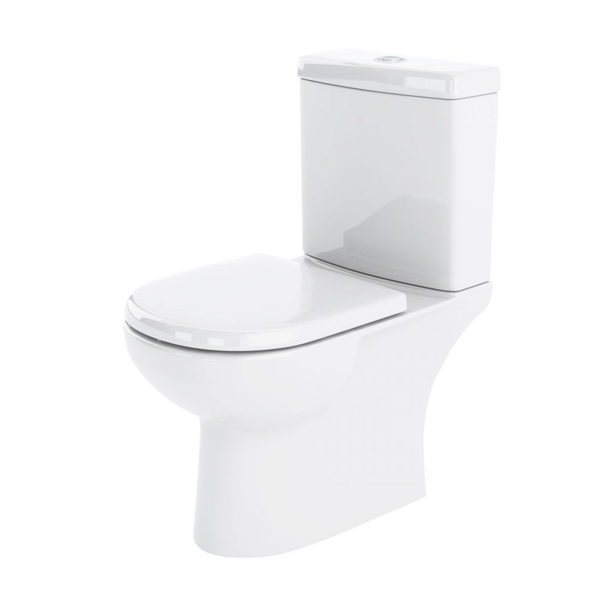 Nuie Lawton Close Coupled Toilet with Soft Close Seat