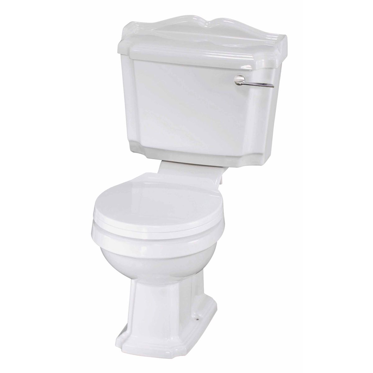 Nuie Legend Close Coupled Toilet and Soft Close Seat