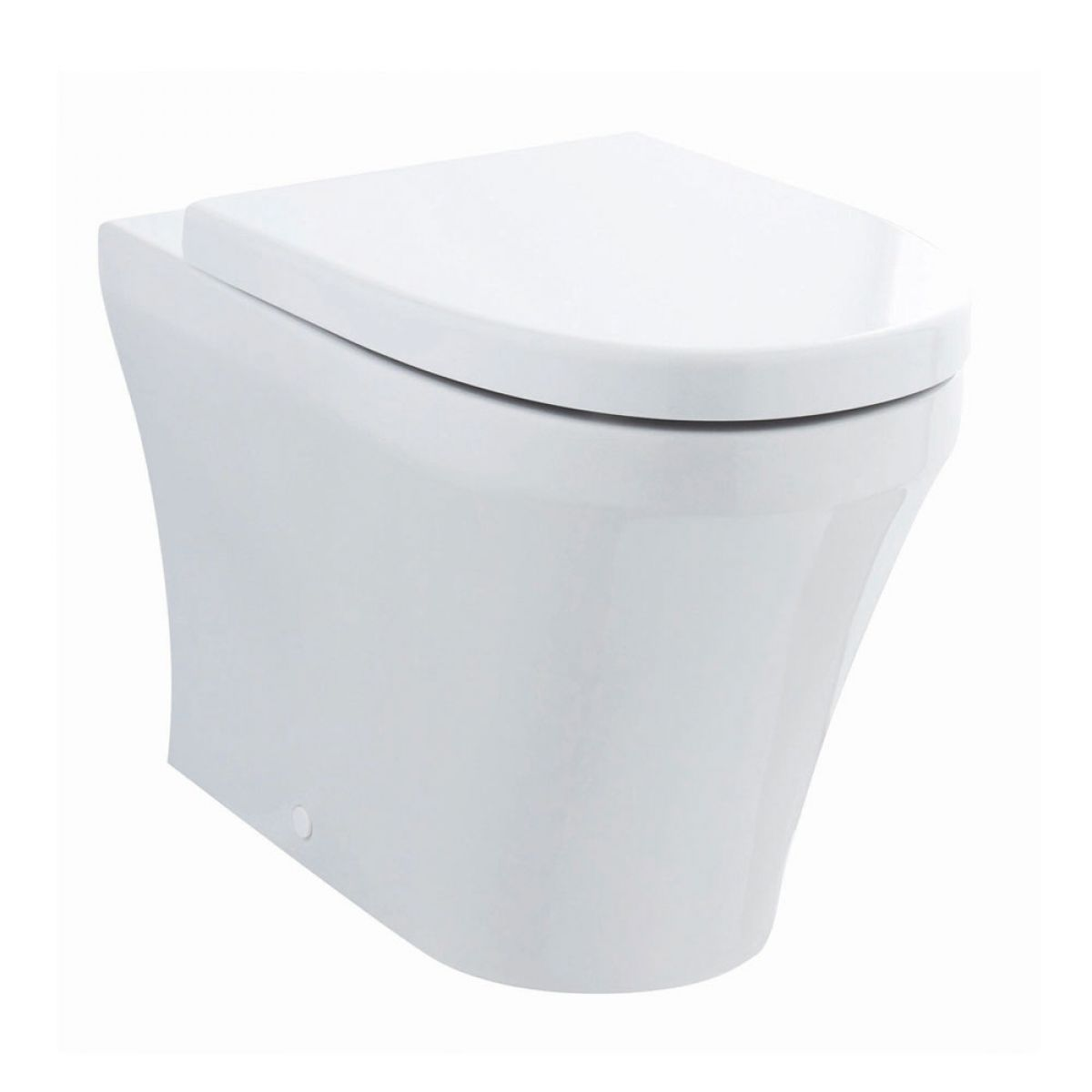 Premier Marlow Back to Wall Toilet with Soft Close Seat