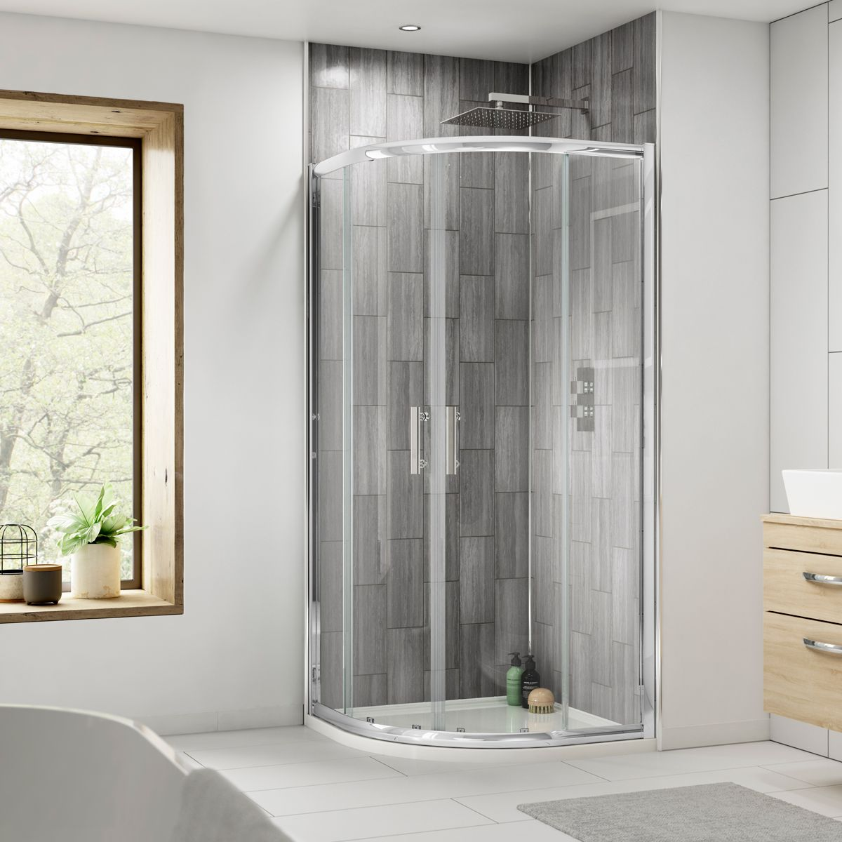 Premier Pacific Quadrant Shower Enclosure