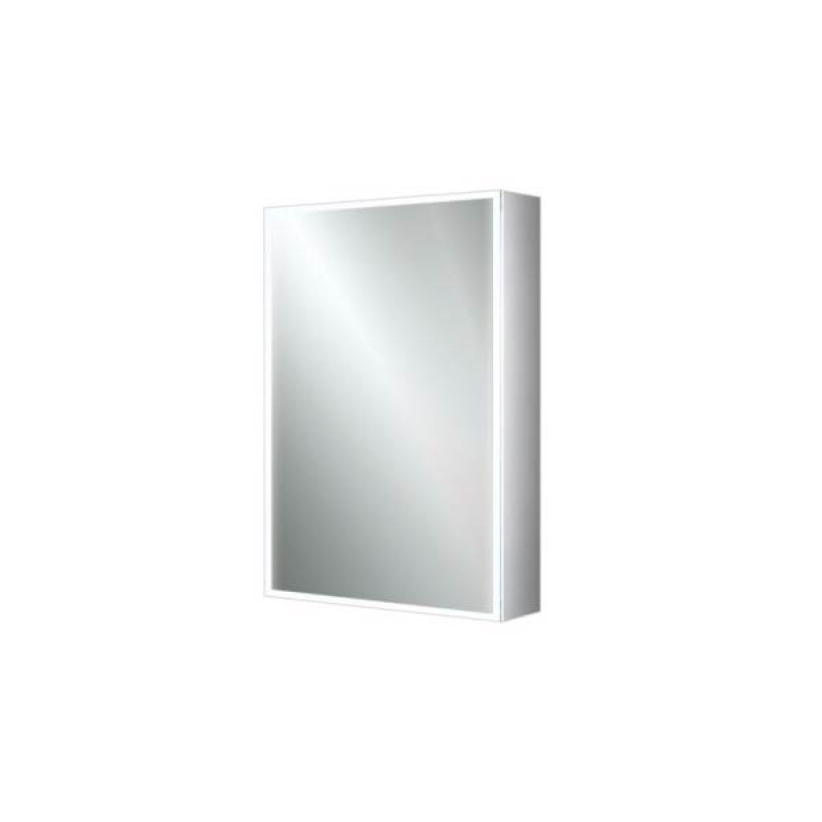 HiB Qubic 50 LED Single Door Cabinet