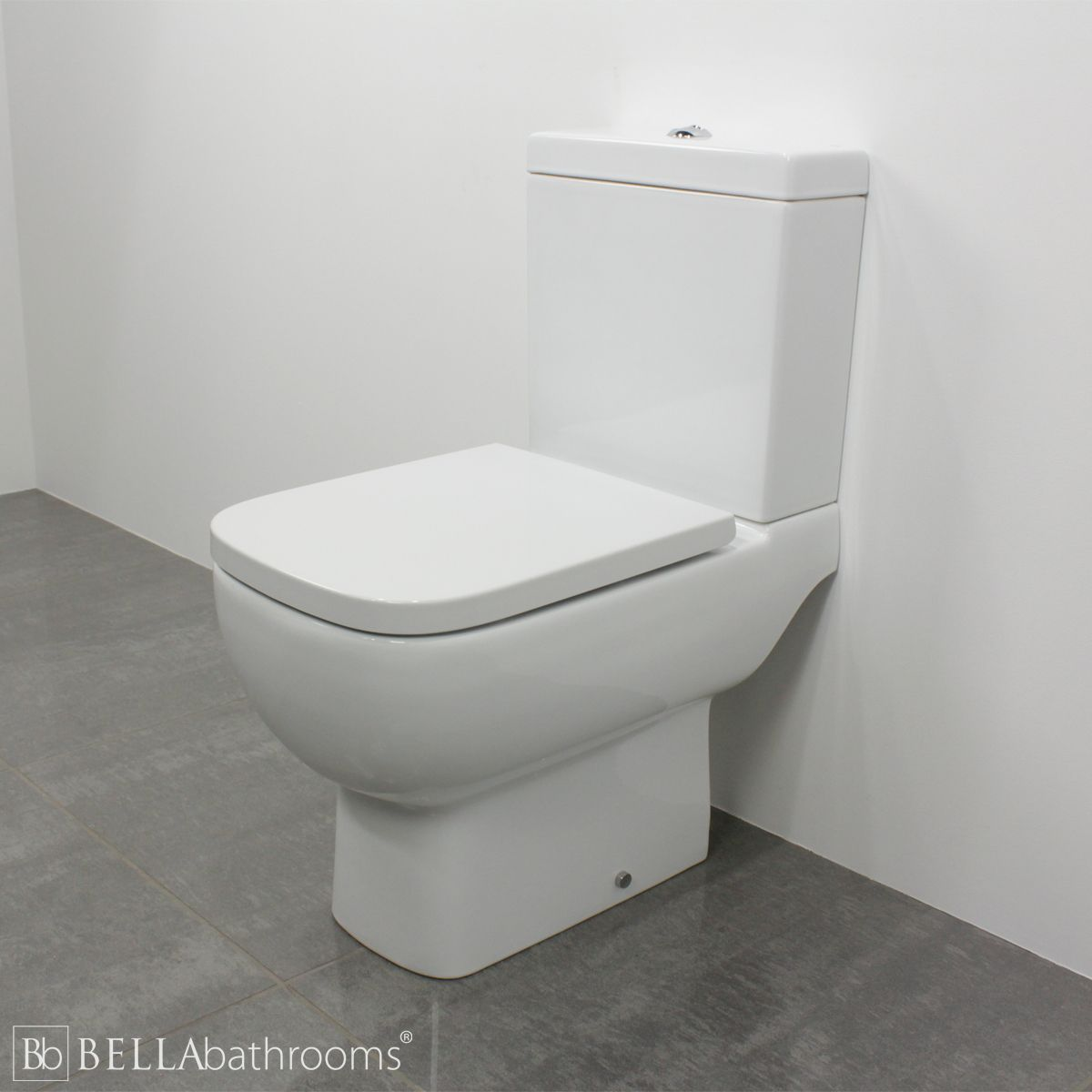 RAK Series 600 Short Projection Toilet 600mm with Slimline Soft Close Seat