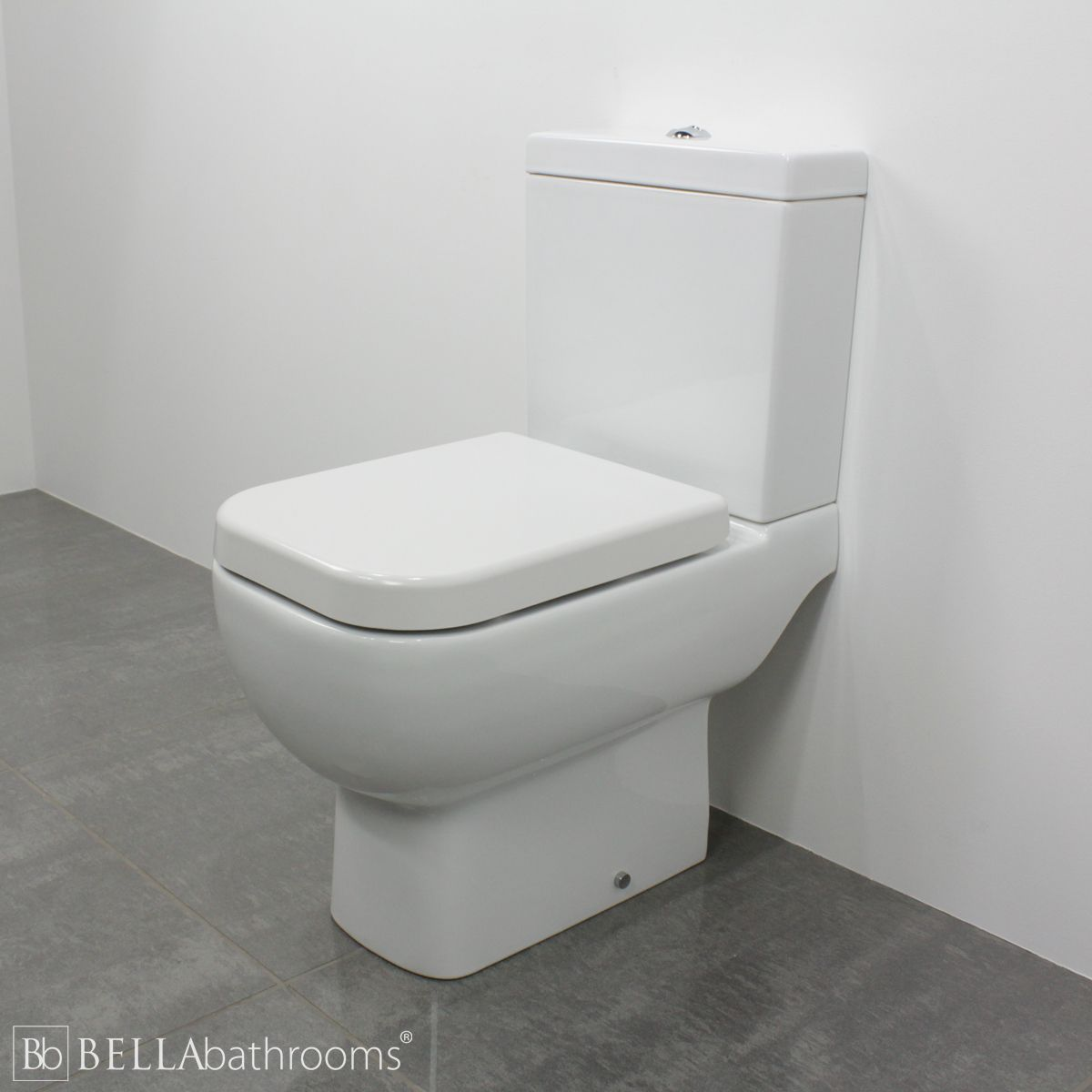 RAK Series 600 Short Projection Toilet 600mm with Standard Seat