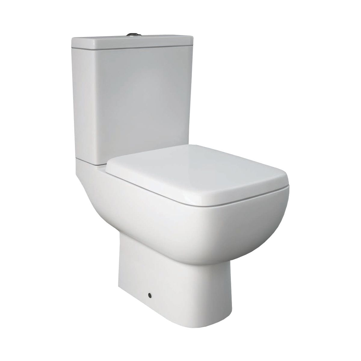 Rak Series 600 Toilet And Semi Pedestal Basin Set