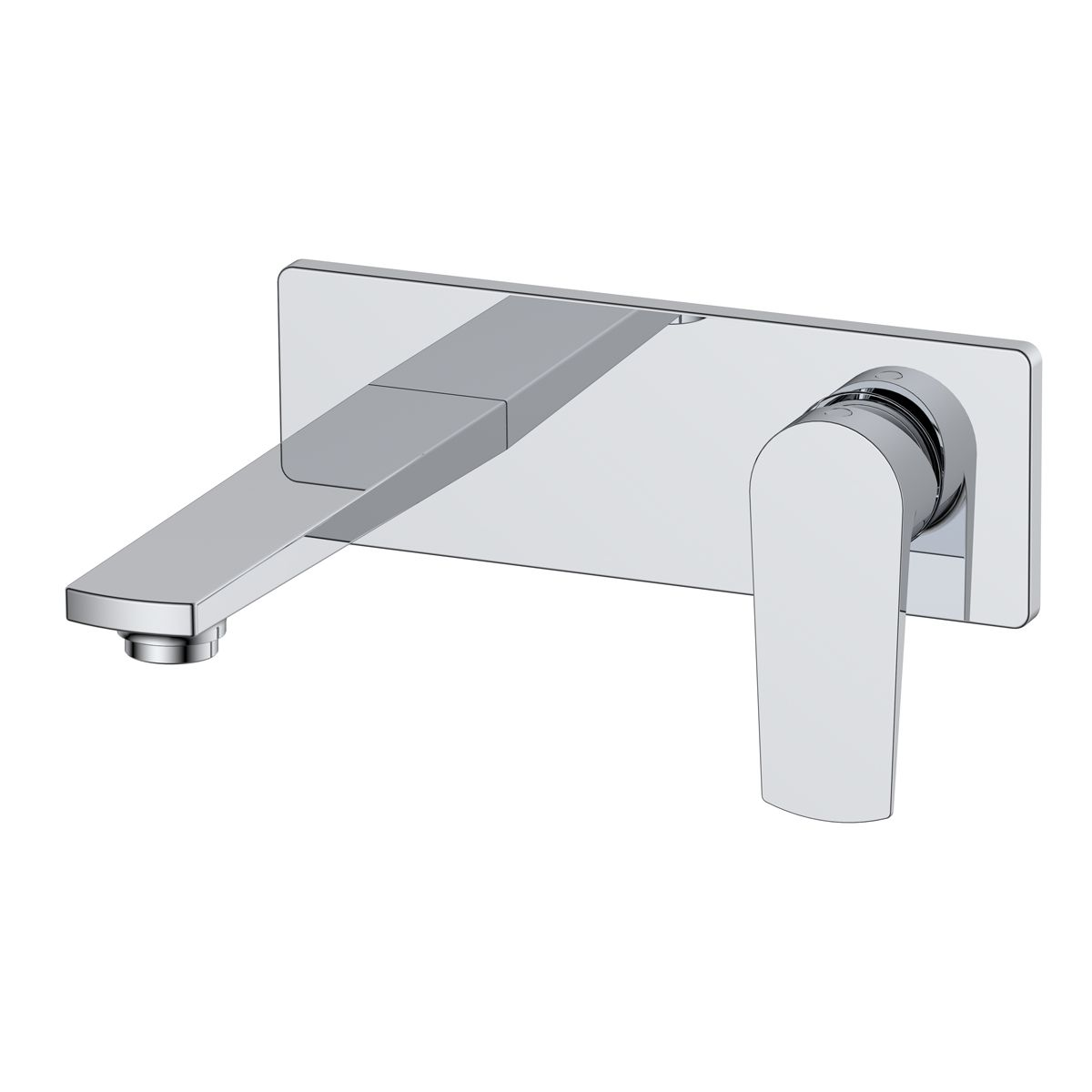 RAK Blade Wall Mounted Basin Mixer Tap with Backplate