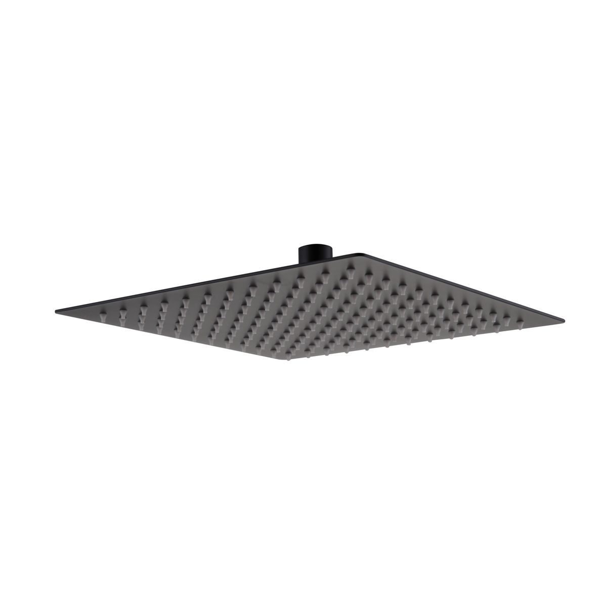 RAK Black Square Ultra Slim Shower Head 250mm