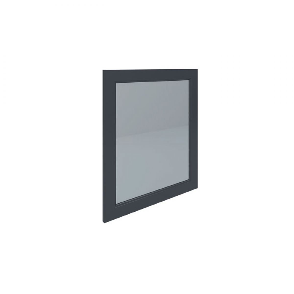 RAK Washington Black Bathroom Mirror 650mm