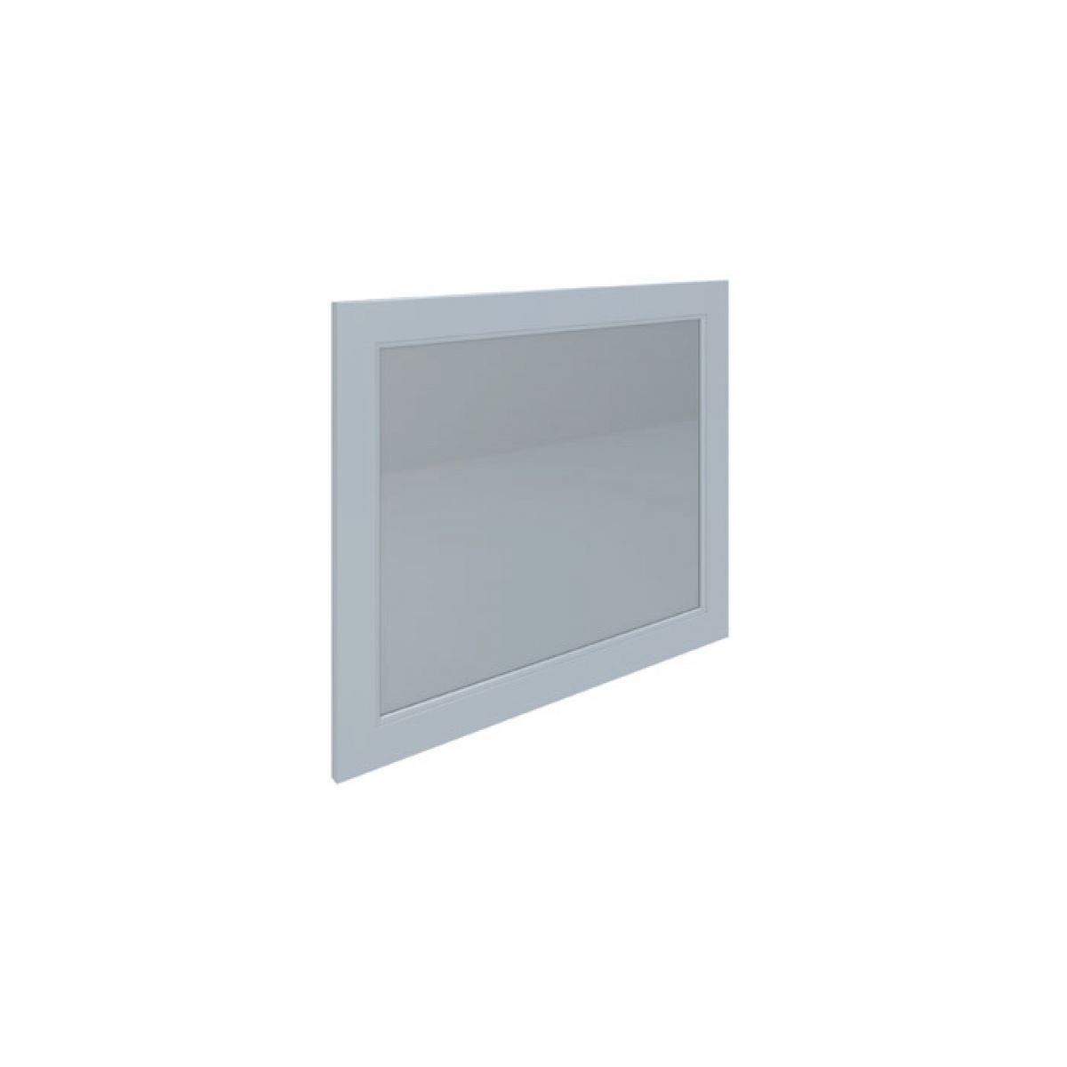 RAK Washington White Bathroom Mirror 800mm